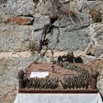 Kunstwerk aus Kriegsrelikten von Trenkwalder