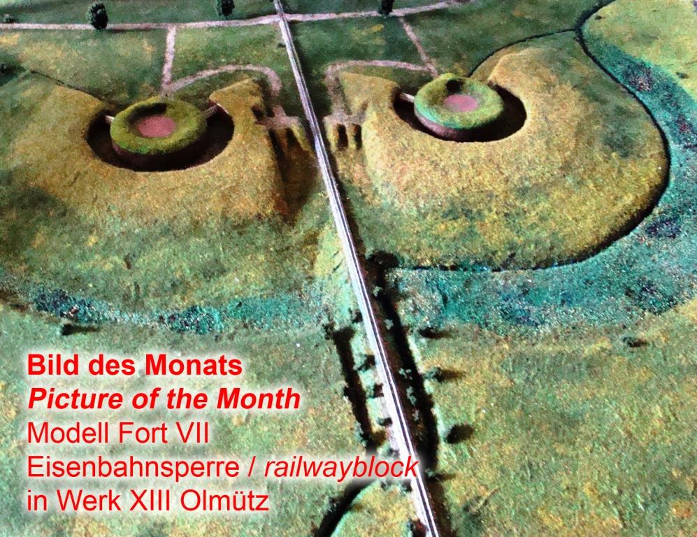 Fort VII Olmütz Eisenbahnsperre - Kopie