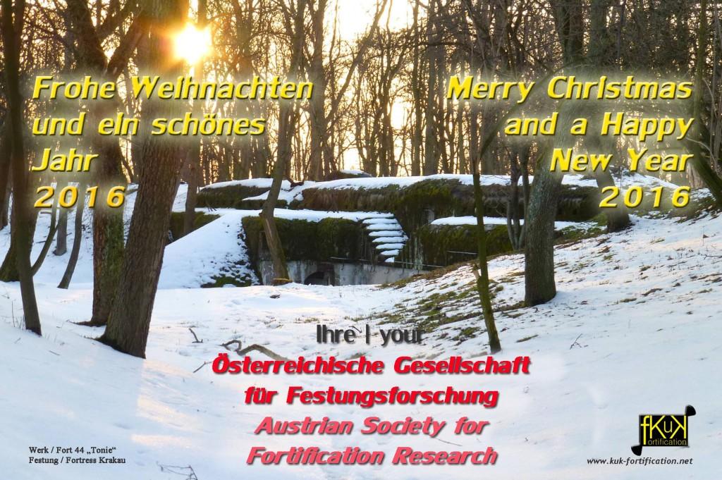 OeGF WEIHNACHTSKARTE 2015