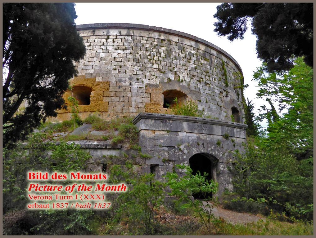 Verona Turm I (XXX) auf den Höhen von San Giuliano